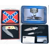 2-lot Collector knives Sets Buck & four generals